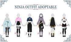 Fashion Design Drawings, Fashion Sketches, Ninja Outfit, Naruto Clothing, Anime Ninja, Naruto Girls, Naruto Oc, Drawing Anime Clothes, Clothing Sketches