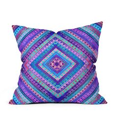 "DENY Rhythm Decorative Pillow, 16"" x 16"""