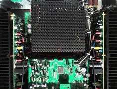 Rotel RA-1592 Integrated Amplifier - Components