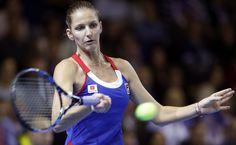 #Pliskova Fed Cup, Tennis Racket