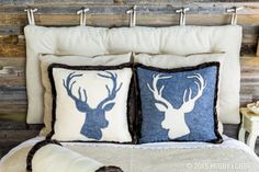 Cozy and chic pillows are only a few stitches away!