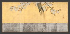 Sakai Hōitsu | Blossoming Cherry Trees | Japan | Edo period (1615–1868) | The Met