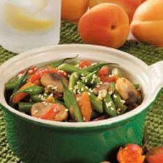 Stir-Fry Sesame Green Beans