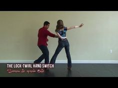 Sport And Danse Vidéos : Advanced Salsa Dance Moves - Lock Twirl Hand Switch - Virtual Fitness Salsa Dance Video, Salsa Dance Lessons, Ballroom Dance Dresses, Ballroom Dancing, Squat, Salsa Moves, Tap Dance Quotes, Danse Salsa, Country Dance