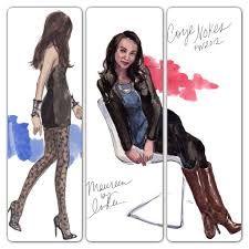inslee fashion illustration - Google Search