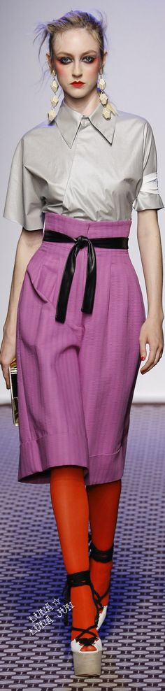 Olympia Le-Tan Spring 2016 women fashion outfit clothing style apparel @roressclothes closet ideas