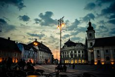 Sibiu Romania, Mansions, House Styles, Home Decor, Impressionism, Decoration Home, Manor Houses, Room Decor, Villas