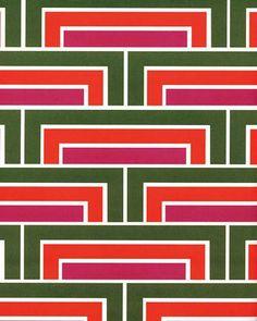 Florence Broadhurst Steps wallpaper
