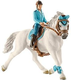 Schleich Tournament Rider Farm Life Riding Sets Sale 2020 The largest selection of Schleich toys Animals, Horses, Knights, Dinosaurs, Smurfs. Schleich Horses Stable, Horse Stables, Horse Tack, Figurine Schleich, Jurassic World, Bryer Horses, Types Of Horses, Equestrian Outfits, Equestrian Fashion