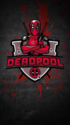 Logo Deadpool, Deadpool Y Spiderman, Deadpool Chibi, Deadpool Funny, Spiderman Art, Loki Marvel, Marvel Comics, Marvel Phone Wallpaper, Comic Art