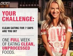 Challenge: Clean Eating for one week