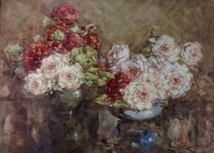 Margaret Olrog Stoddart - Google'da Ara Roses, Oil, Diamond, Painting, Pink, Painting Art, Rose, Paint, Draw