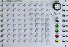 Eurorack Module Circadian Rhythms from Tiptop Audio