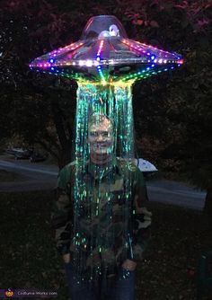 Alien Abduction DIY Halloween Costume