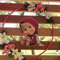 Bear Birthday, Minnie Birthday, 3rd Birthday, Girls Birthday Party Themes, Diy Birthday Decorations, Masha Et Mishka, Marsha And The Bear, Birthday Girl Pictures, Baby Girl Toys