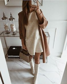 Beige Look From Zara Beige is the color of elegance. And all beige looks are going to be this season's trendy look. I want to make a minimalistic look for you with Zara clothing Outfits Casual, Mode Outfits, Sweater Outfits, Fall Outfits, Fashion Outfits, Womens Fashion, Fashion Trends, Fashion Clothes, Fashionable Outfits