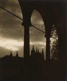 JOSEF SUDEK (1896-1976) Praha Castle (1922)