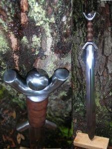 Celtic Anthromorphic Sword