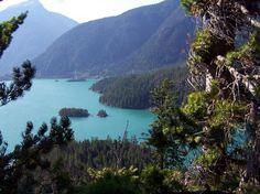 Diablo Lake in Washington