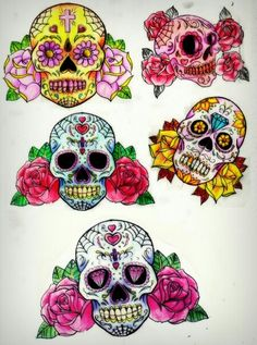 Sugar skull flash sheet