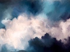 Shaynna Blaze x Urban Road. Transcend - Curtain Call: Reminiscent of the sky before a storm, the artworks of Transcend are ethereal and striking, featuring soft white cloud-like forms contrasted against deep, moody tones. Canvas, shadow box, framed art print.
