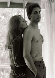 Susan and Chris Sarandon in 1968 (married 1967-79)