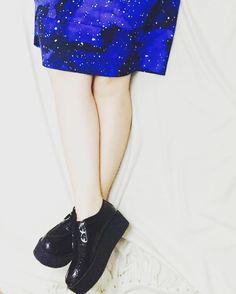 provocative-planet-pics-please.tumblr.com  Skirt by @monki | shoes by #parklane | #monki #parklane #alternative #skirt #galaxy #planets #stars #space #alternativefashion #platformshoes #blackshoes #brogues #outfit #outfits #rock #schuhe #planeten #sternen #gonna #scarpe #scarpenere #galassia #spazio #stringate #blue #black #schwarz #traveler by fernweh93 https://www.instagram.com/p/BEQG9tCKrxX/