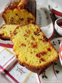Dla ukochanego i ukochanej cake with orange and goji berries My Recipes, Italian Recipes, Cornbread, French Toast, Sweet Treats, Berries, Cooking, Breakfast, Ethnic Recipes