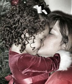 RePicture Family Christmas child photography Mother & Daughter