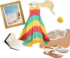 """Beach Idyll"" by shubhangi90 on Polyvore"