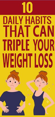 Triple Your Weight Loss With These 10 Habits Easy Weight Loss Tips, Weight Loss Program, Ways To Lose Weight, Healthy Weight Loss, Foods For Brain Health, Health And Nutrition, Health Tips, Health Fitness, Herbal Weight Loss