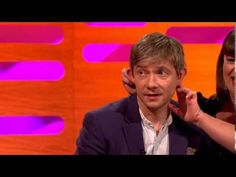 Hobbit Special - Martin Freeman On The Graham Norton Show Full Interview (14/12/12). Too funny. Love Martin