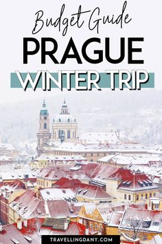 Prague Travel Guide, Europe Travel Guide, Budget Travel, Travel Destinations, Winter Travel, Holiday Travel, Best Places To Travel, Cool Places To Visit, Prague Winter
