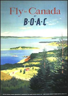 BOAC. A standard in my childhood. British Overseas Airway Corporation.