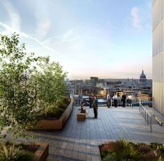 The Place - About - Roof Terrace