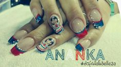 #disfrutatubelleza#nails#independenceday
