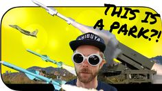 RANDOM VLOG: This is a park?! Missile Park... EPIC artillery displays fo...