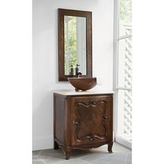 CLOVER PETITE SINK CHEST - Ambella Home  #Furniture #Vanity #Bathroom #Storage #Sinks #Sinkchest