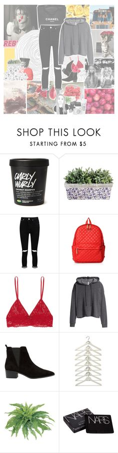 """""""♥DON'T SPEAK, I KNOW JUST WHAT YOU'RE SAYING♥~Weekly newsletter"""" by leeloowheeler ❤ liked on Polyvore featuring Chanel, Oris, Boohoo, M Z Wallace, Hanky Panky, GET LOST, H&M, MANGO, NARS Cosmetics and ASOS"""