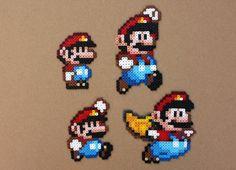 Super Mario World Perler Hama Bead Sprites perles