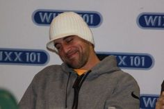 Uhhhhhh...I used to have a hat just like that one. Bought it at Target. I loved that hat. Dammit, Aaron Rodgers, give it back!!  -  aaron rodgers...look at that grin ;)