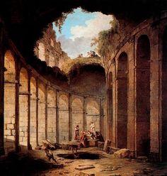 Colisée 1 de Hubert Robert (1733-1808, France)