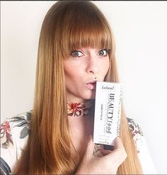 Marine Collagen Protein Bars Kalumi BEAUTYfood fortified with marine collagen and other beauty boosting ingredients. Chloe hurst approves! #hairgoals #healthymodel #model #kalumi #BEAUTYfood #collagen #hairskinnails