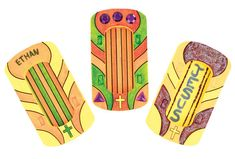 God-with-Us Basket Raft Craft for Splash Canyon VBS is also used during games, so be sure to order an extra pack!