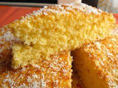 Bolo de Coco e Laranja Food Cakes, Portuguese Recipes, Something Sweet, Cooking Classes, Chocolate, Cornbread, Vanilla Cake, Cake Recipes, Deserts