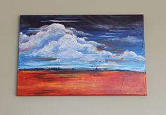 Wanddeko - Bild auf Leinwand Handbemalt - ein Designerstück von Ortons bei DaWanda Designer, Etsy, Painting, Art, Wall Canvas, Idea Paint, Art Production, Art Background, Painting Art