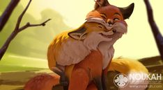 Day of the fox by Noukah on DeviantArt