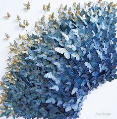 paper butterflies: