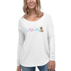 This relaxed long sleeve tee combines the best of both worlds, proving that cozy can also be chic. Dog Mom Shirt, Long Sleeve Tees, Pullover, Chic, Sweatshirts, Lady, Casual, Sleeves, Clothes