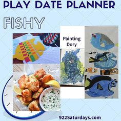 All about the fish today Play Date Planner  #familyfun #saturday  #dadlife #momsofinstagram #homeschool #timewithfamily #922saturdays #recipes #livingcraftykids #scienceforkids #922saturdaysplaydateplanner  #playdate #timewithkids #momlife #campgrandma #d